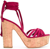 Alchimia Di Ballin - platform sandals - women - Leather/Suede - 36