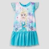 Frozen Toddler Girls' Frozen Nightgown - Blue
