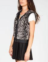 YMI Jeanswear Womens Faux Fur Vest