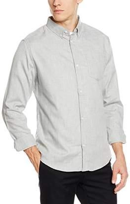 D-Struct Men's D Keyes Dress Shirts, Grey, Medium (Size:M)