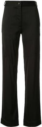 Manning Cartell Australia Straight-Leg Satin Trousers