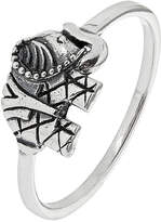 Accessorize Sterling Silver Elephant Ring
