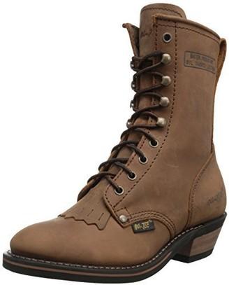 "AdTec Ad Tec Women's 8"" Packer Brown-w Boot Numeric_8"