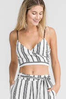 Lush Stripe Crop Top