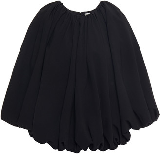 Totême Brando Gathered Crepe Blouse