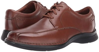 Clarks Kempton Run (Black Leather) Men's Shoes