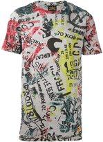 Vivienne Westwood font print T-shirt