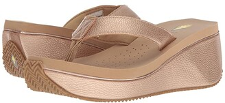 Volatile Orville (Rose/Gold) Women's Sandals
