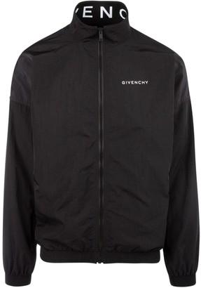 Givenchy Logo Collar Jacket