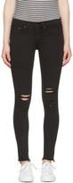 Rag & Bone Black Legging Jeans