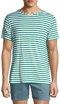 Parke & Ronen Men's Striped Stretch T-Shirt