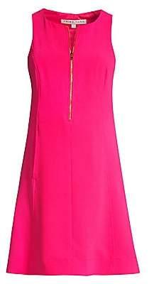 Trina Turk Women's Reef Zip Front Shift Dress