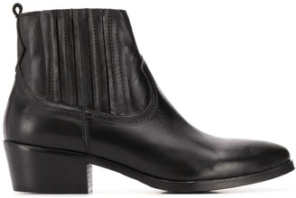 Albano pointed elasticated boots