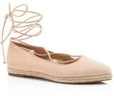 Michael Kors Cadence Lace Up Espadrille Flats