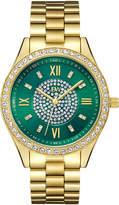 JBW Women's Mondrian 18K Yellow Gold Plated Stainless Steel Watch, 37mm