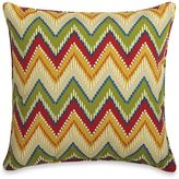Bed Bath & Beyond 20-Inch Square Throw Pillow in Zig Zag