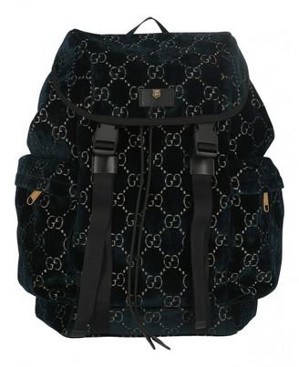 Gucci Mesh Navy Velvet Bags