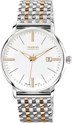 Dugena Gents Watch XL Premium 7090167 Analogue Quartz Stainless Steel