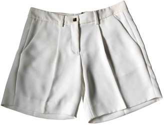 Versace White Shorts for Women