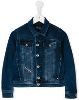 Diesel Jaffyk denim jacket - kids - Cotton/Polyester/Spandex/Elastane - 2 yrs