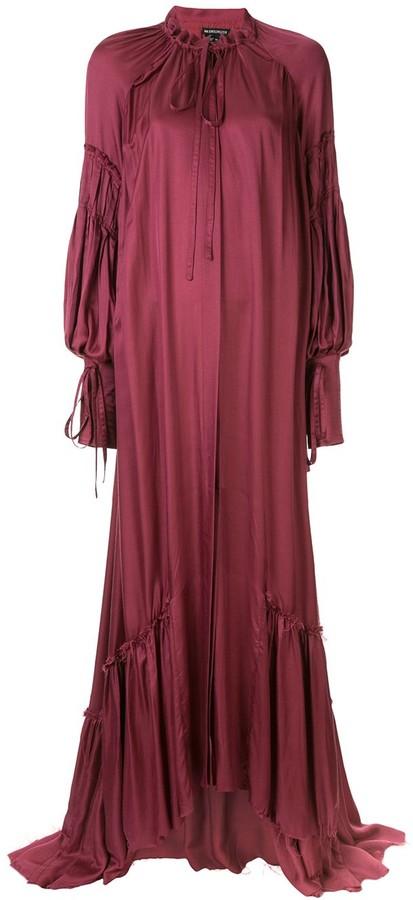 Ann Demeulemeester Billowing Maxi Dress