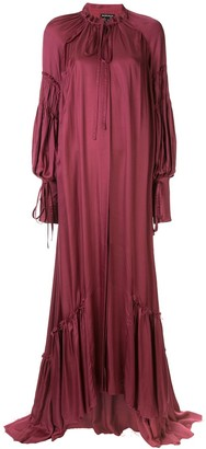 Ann Demeulemeester Billowing Maxi Dress