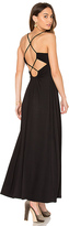 Susana Monaco Phaedra Maxi Dress in Black. - size XS (also in )