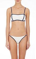 Solid & Striped Women's Natalie Microfiber Bikini Top-NAVY