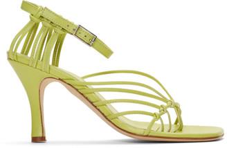 CHRISTOPHER ESBER Yellow Valletta Sandals