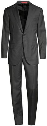 Isaia Regular-Fit Classic Wool Suit