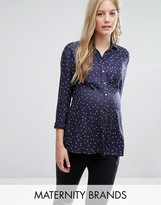 Isabella Oliver Star Print Shirt