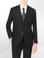 Calvin Klein Classic Fit Black Wool Suit Jacket
