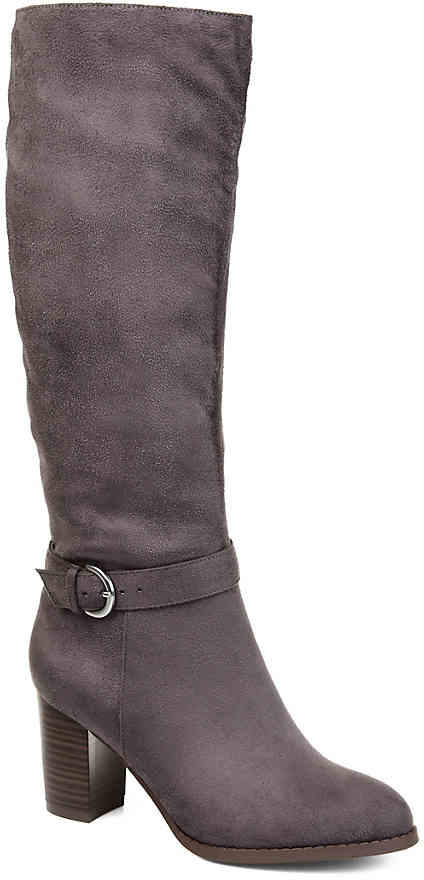 Journee Collection Joelle Wide Calf Riding Boot - Women's