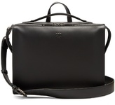 Fendi Logo-embossed Leather Briefcase