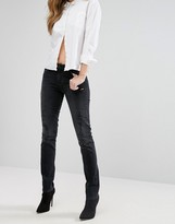 Lee Elly Slim Straight Mid Rise Jeans