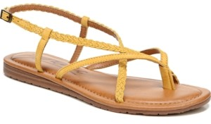 Zodiac Yovana Braided Strappy Flat Sandals Women's Shoes