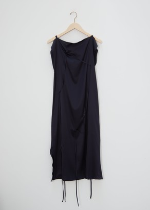 Base Range Chey Silk Satin Dress