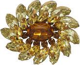 One Kings Lane Vintage Kramer Gold & Citrine Glass Pin