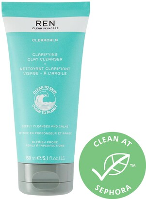 Ren Skincare Clearcalm Clarifying Clay Cleanser
