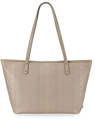 GiGi New York Zip Taylor Leather Tote