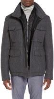 BOSS ORANGE Men's Ohawke Wool Blend Field Jacket