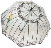 Coxeer Clear Bubble Umbrella with Cute Birdcage Rain Umbrella