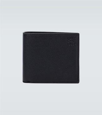 Loewe Bifold grained leather wallet