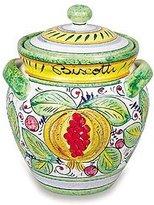 Umbria Frutta Handmade Frutta Mista Biscotti Jar From Italy
