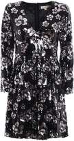 Michael Kors Bead And Sequin Embellished Dress