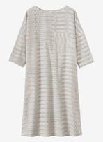 Toast Cotton Ikat Shift Dress