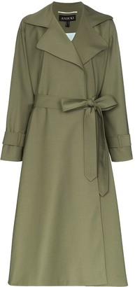 Anouki Belted Lightweight Trench Coat