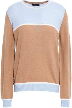 Piazza Sempione Color-block Wool And Cashmere-blend Sweater
