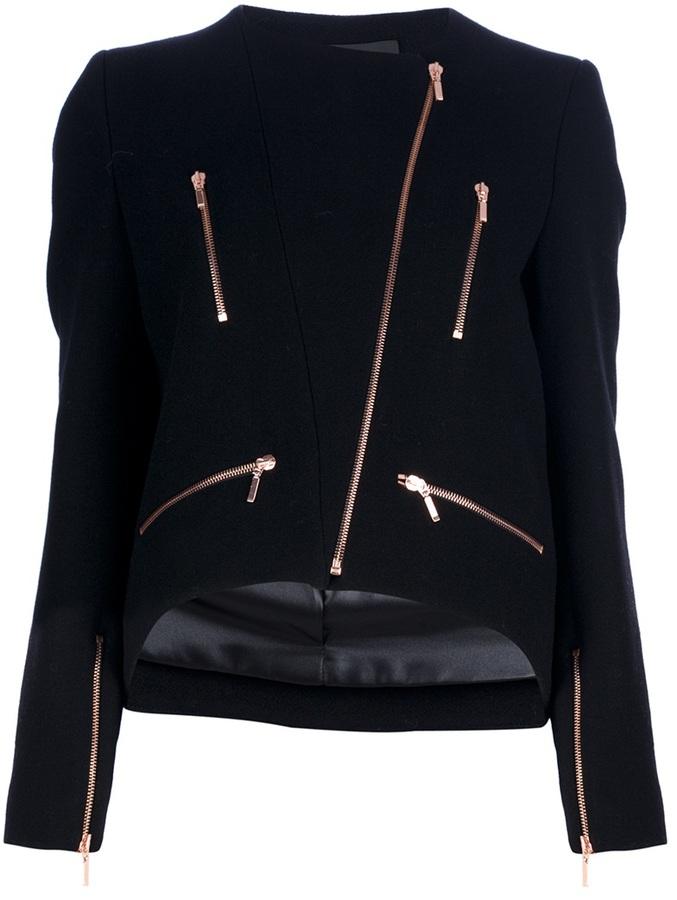 Cédric Charlier zip detail jacket