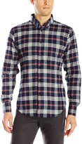 Naked & Famous Denim Men's 3 Tone Real Flannel Button Down Shirt